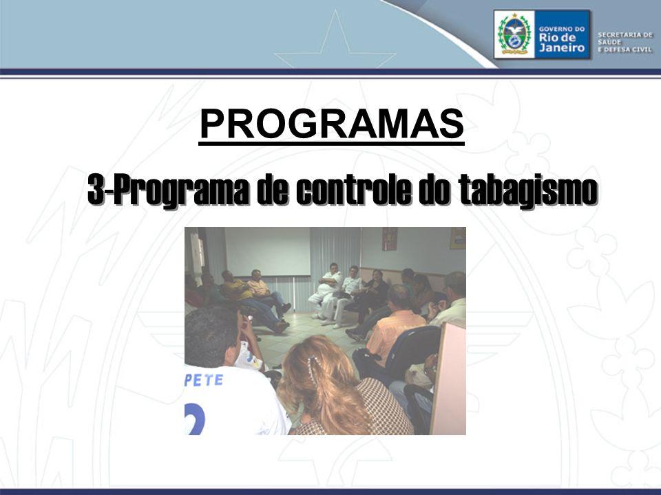 3-Programa de controle do tabagismo