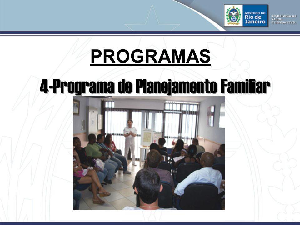 4-Programa de Planejamento Familiar