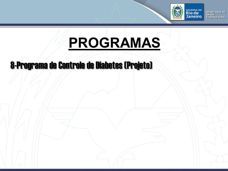 PROGRAMAS 8-Programa de Controle de Diabetes (Projeto) 25
