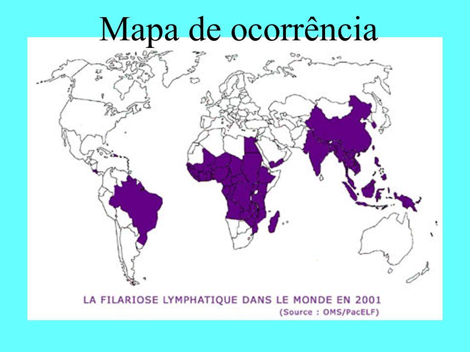 Mapa de ocorrência