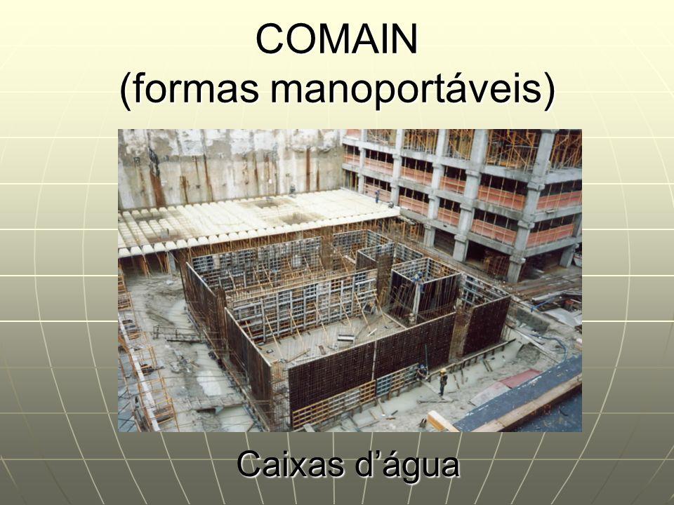 COMAIN (formas manoportáveis)