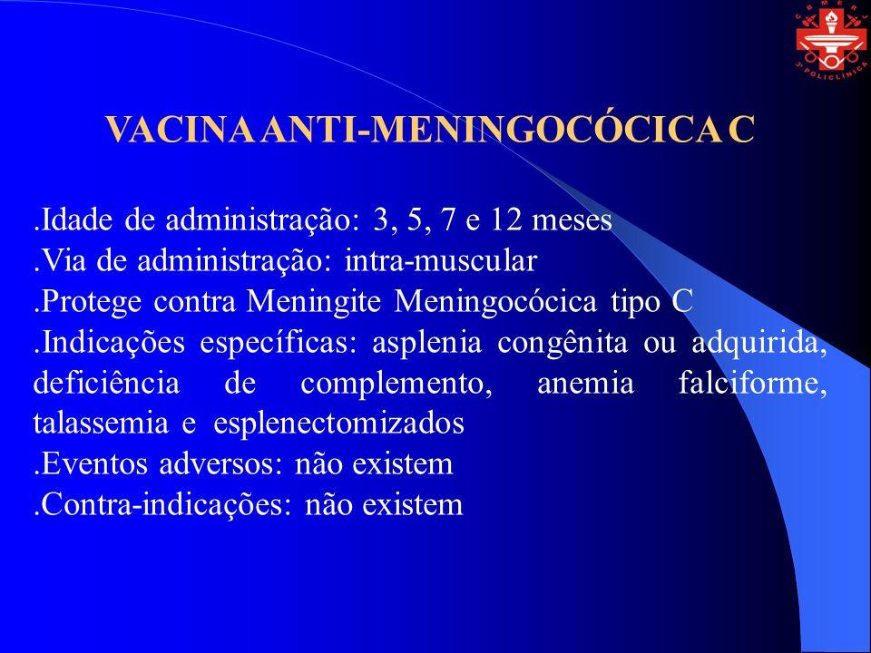 VACINA ANTI-MENINGOCÓCICA C