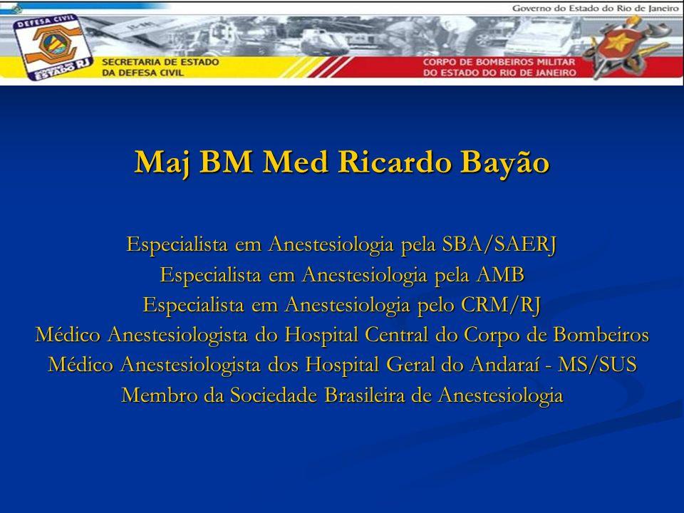 Maj BM Med Ricardo Bayão