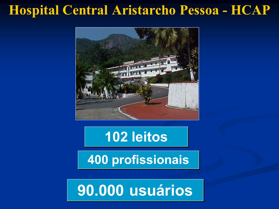 Hospital Central Aristarcho Pessoa - HCAP