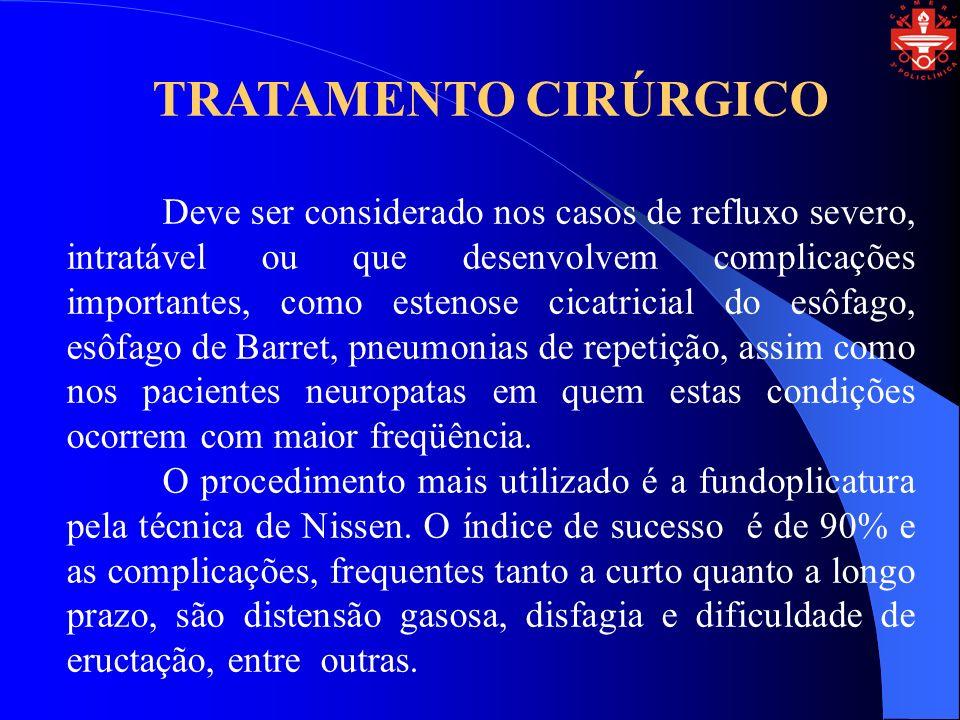 TRATAMENTO CIRÚRGICO