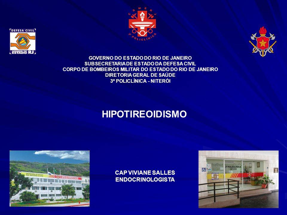 HIPOTIREOIDISMO CAP VIVIANE SALLES ENDOCRINOLOGISTA