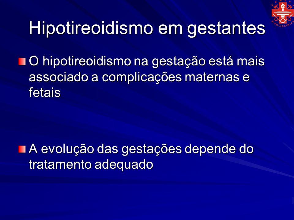 Hipotireoidismo em gestantes