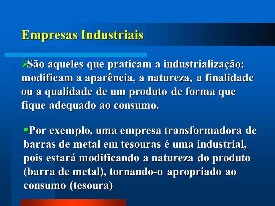 Empresas Industriais