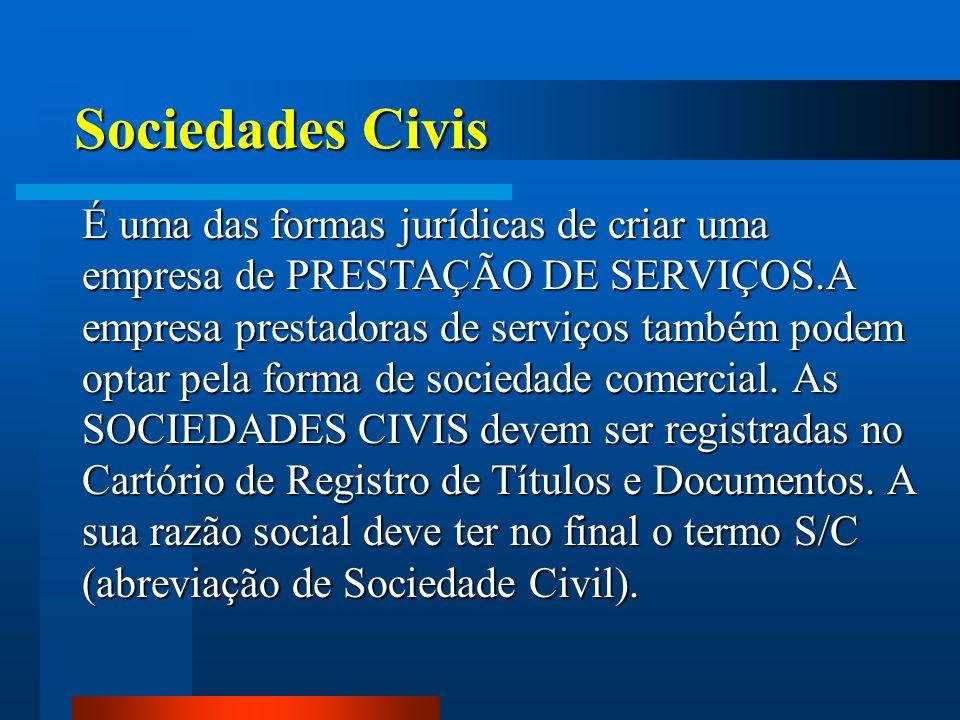 Sociedades Civis