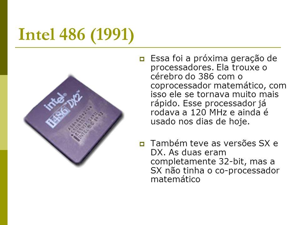 Intel 486 (1991)