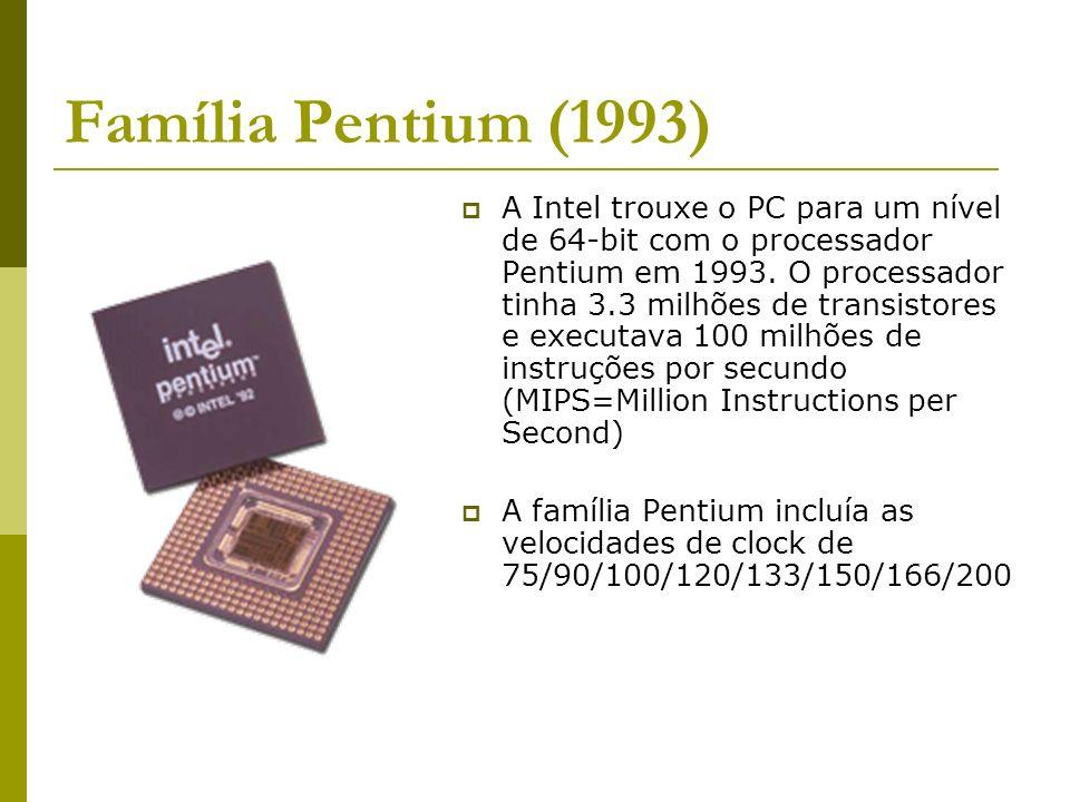 Família Pentium (1993)