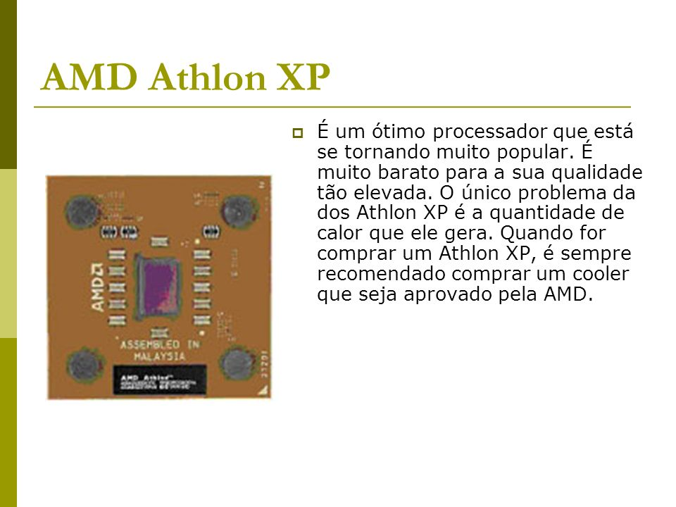 AMD Athlon XP