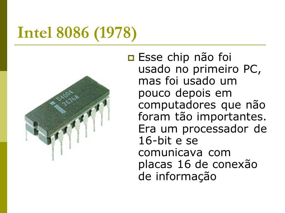 Intel 8086 (1978)