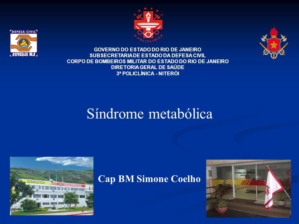 Síndrome metabólica Cap BM Simone Coelho