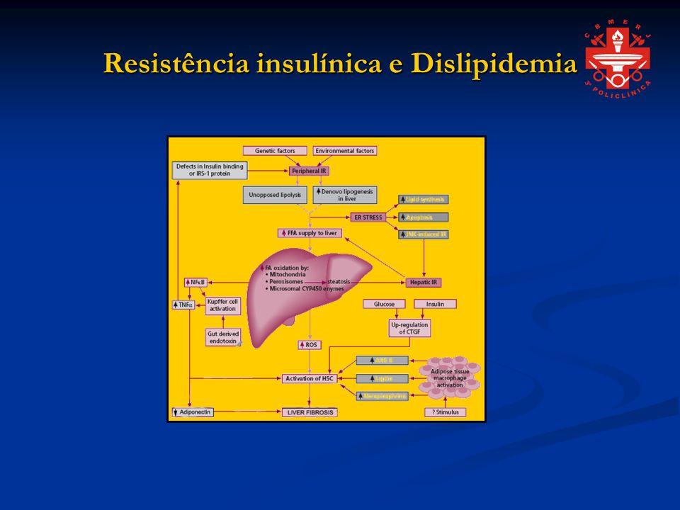 Resistência insulínica e Dislipidemia