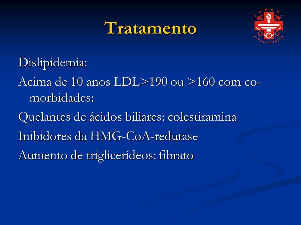 Tratamento Dislipidemia: