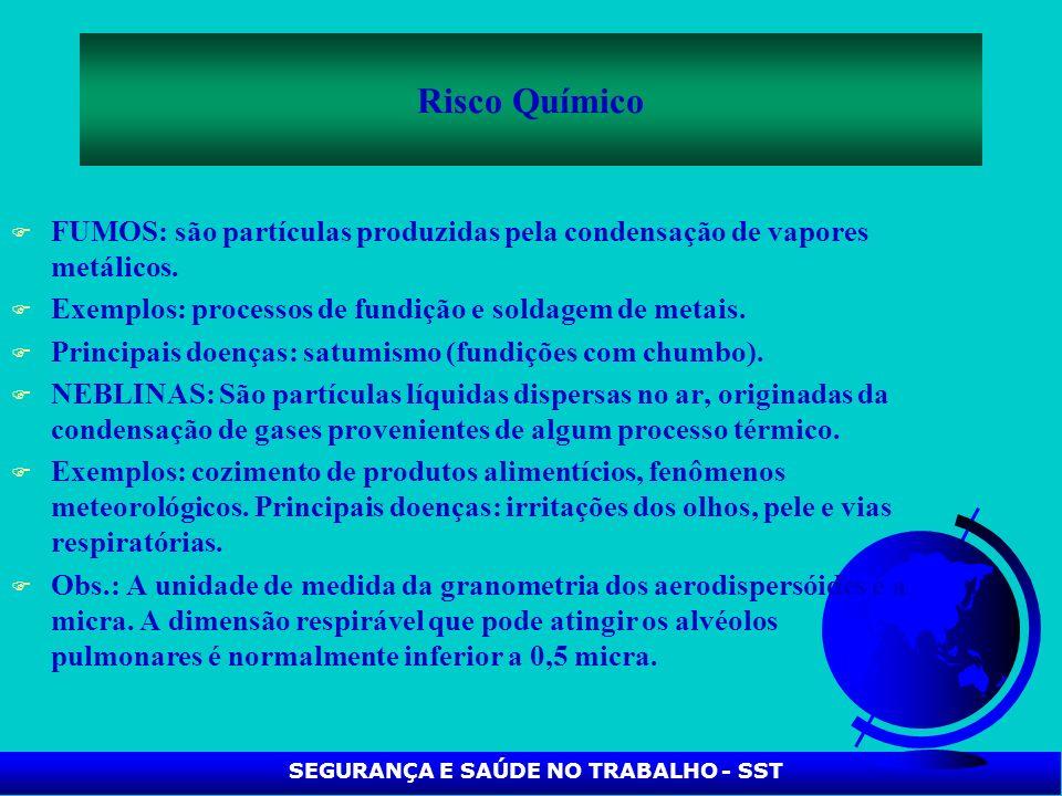 SEGURANÇA E SAÚDE NO TRABALHO - SST