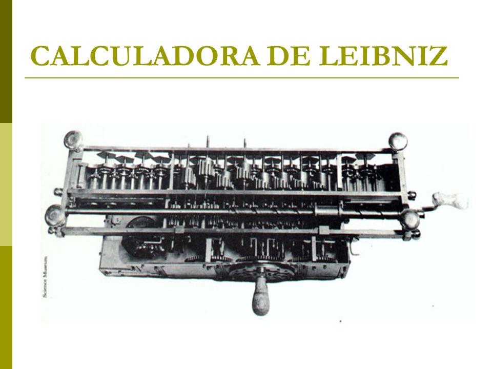 CALCULADORA DE LEIBNIZ