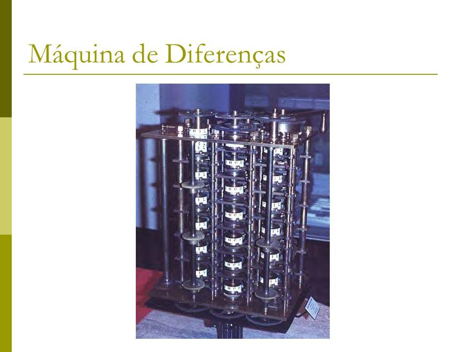 Máquina de Diferenças