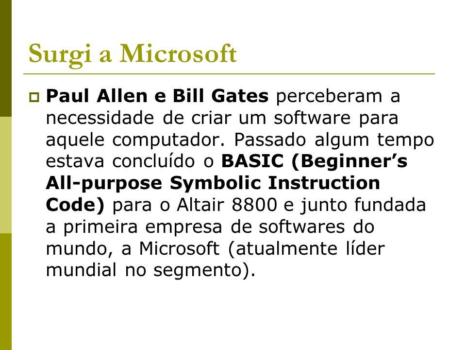 Surgi a Microsoft