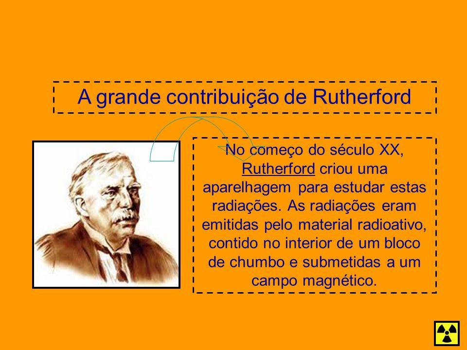A grande contribuição de Rutherford