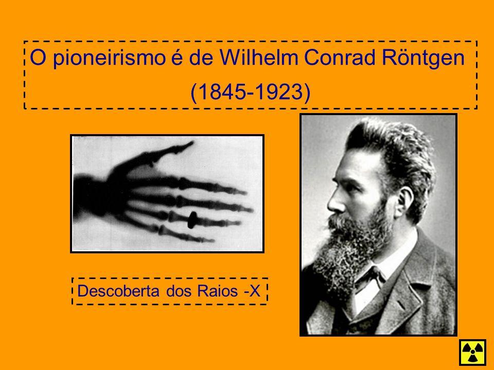 O pioneirismo é de Wilhelm Conrad Röntgen
