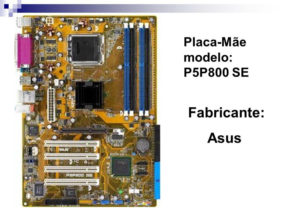 Placa-Mãe modelo: P5P800 SE