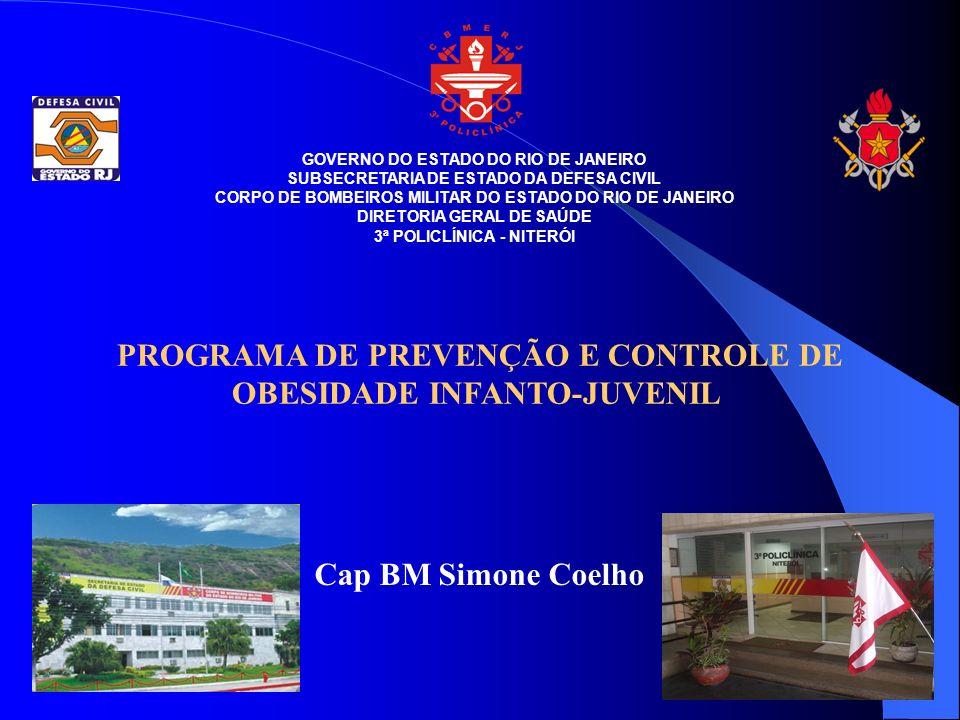 PROGRAMA DE PREVENÇÃO E CONTROLE DE OBESIDADE INFANTO-JUVENIL