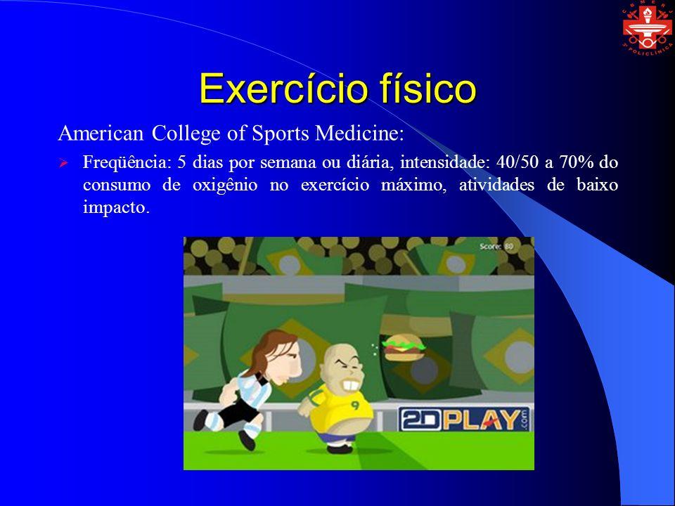 Exercício físico American College of Sports Medicine: