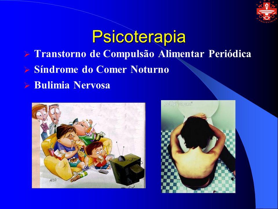 Psicoterapia Transtorno de Compulsão Alimentar Periódica