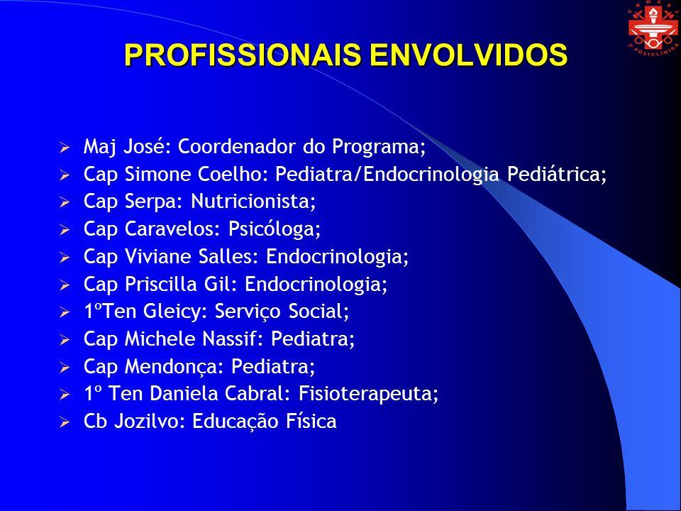PROFISSIONAIS ENVOLVIDOS