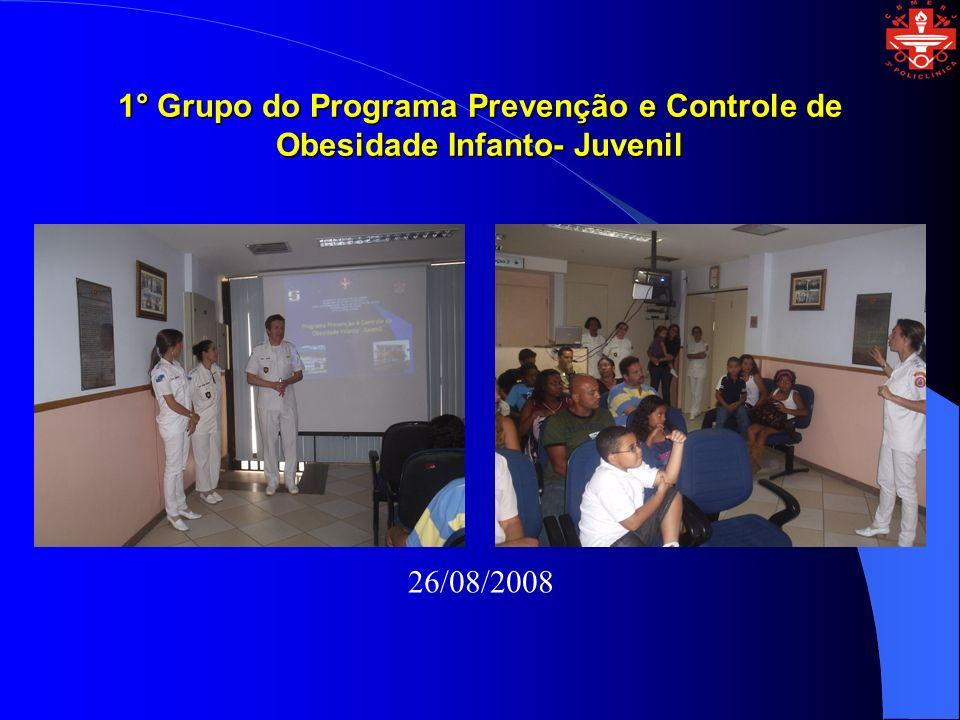 1° Grupo do Programa Prevenção e Controle de Obesidade Infanto- Juvenil
