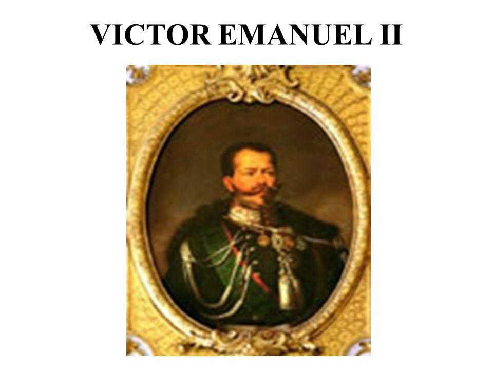 VICTOR EMANUEL II