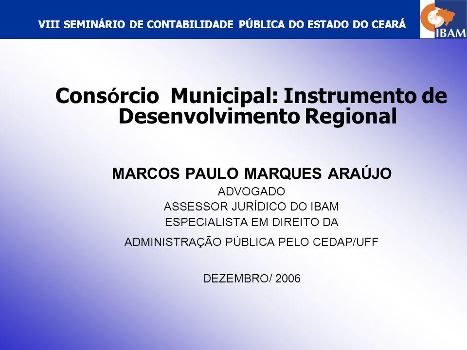 VIII SEMINÁRIO DE CONTABILIDADE PÚBLICA DO ESTADO DO CEARÁ