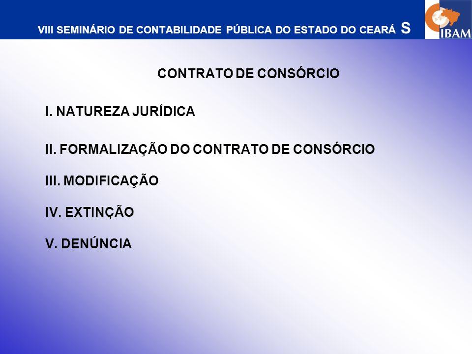 VIII SEMINÁRIO DE CONTABILIDADE PÚBLICA DO ESTADO DO CEARÁ S