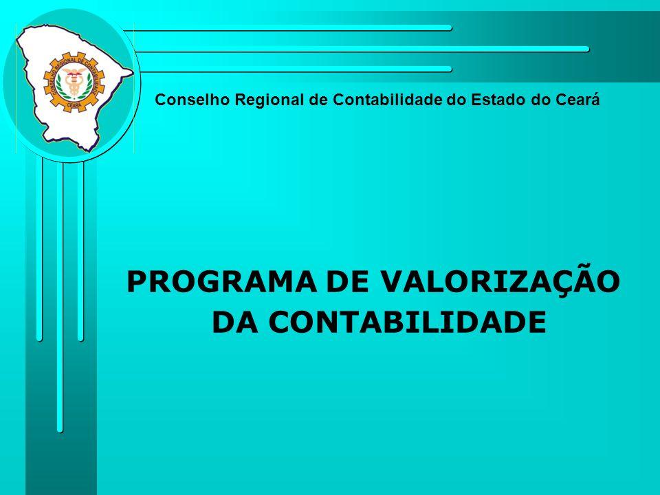 PROGRAMA DE VALORIZAÇÃO DA CONTABILIDADE