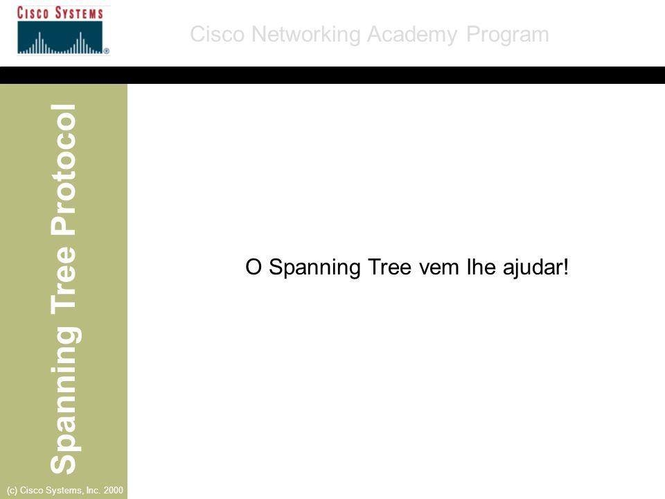O Spanning Tree vem lhe ajudar!