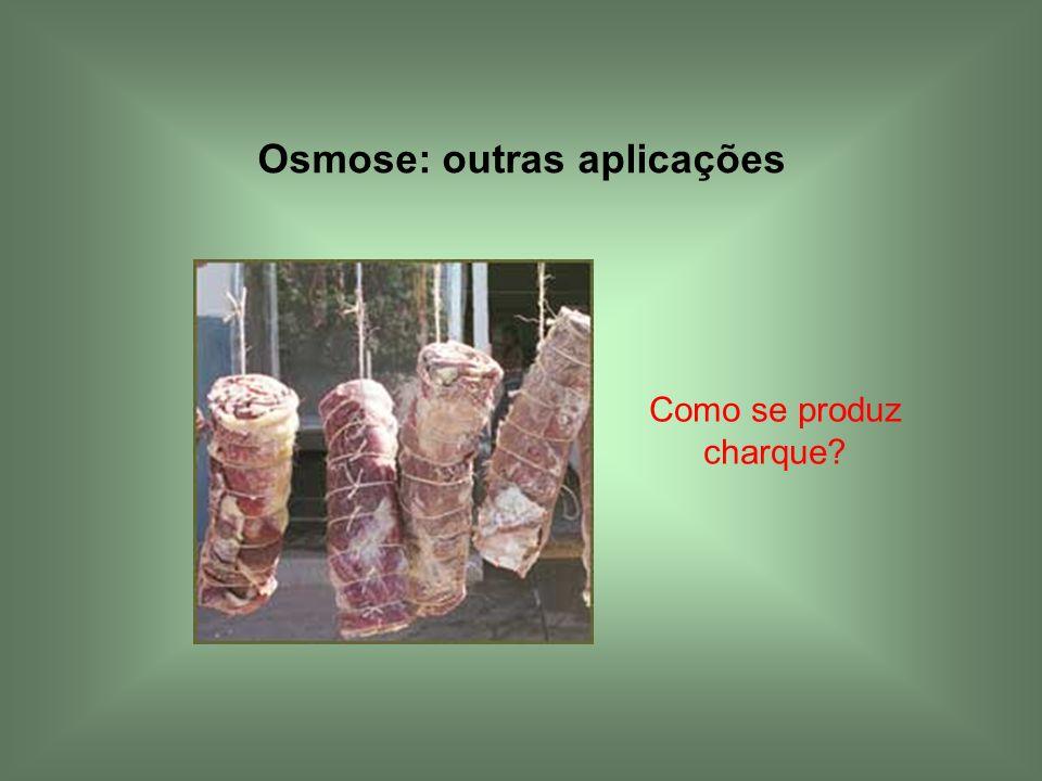 Osmose: outras aplicações