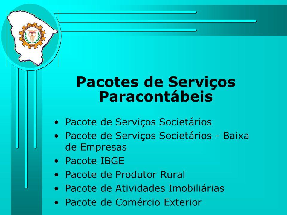 Pacotes de Serviços Paracontábeis