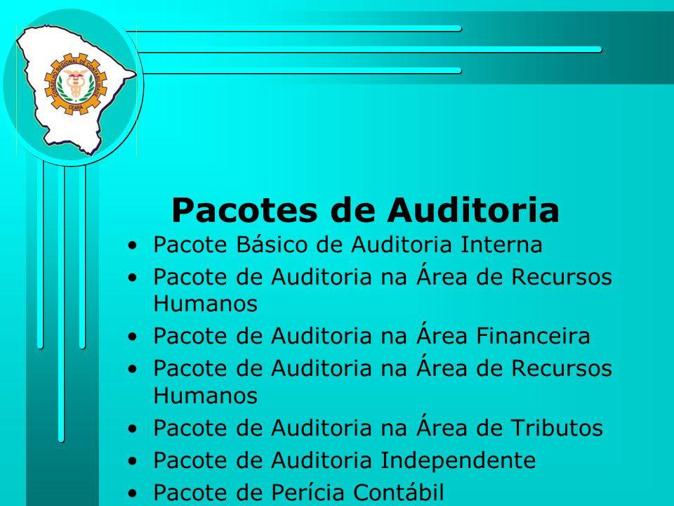 Pacotes de Auditoria Pacote Básico de Auditoria Interna