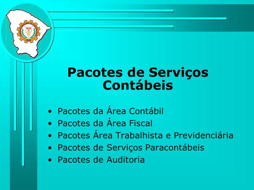 Pacotes de Serviços Contábeis
