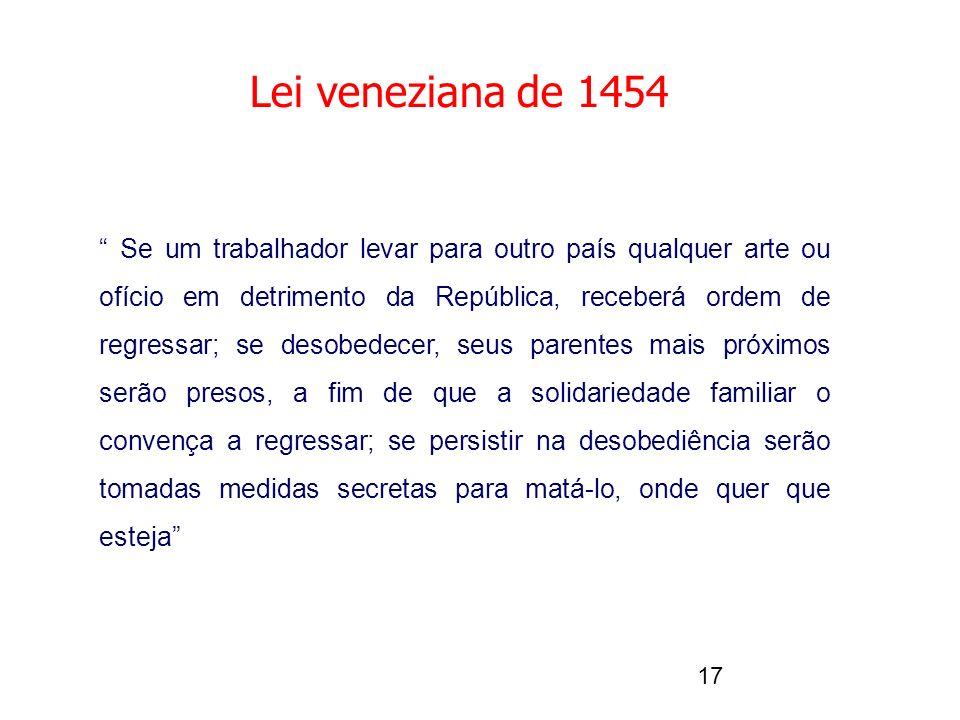 Lei veneziana de 1454