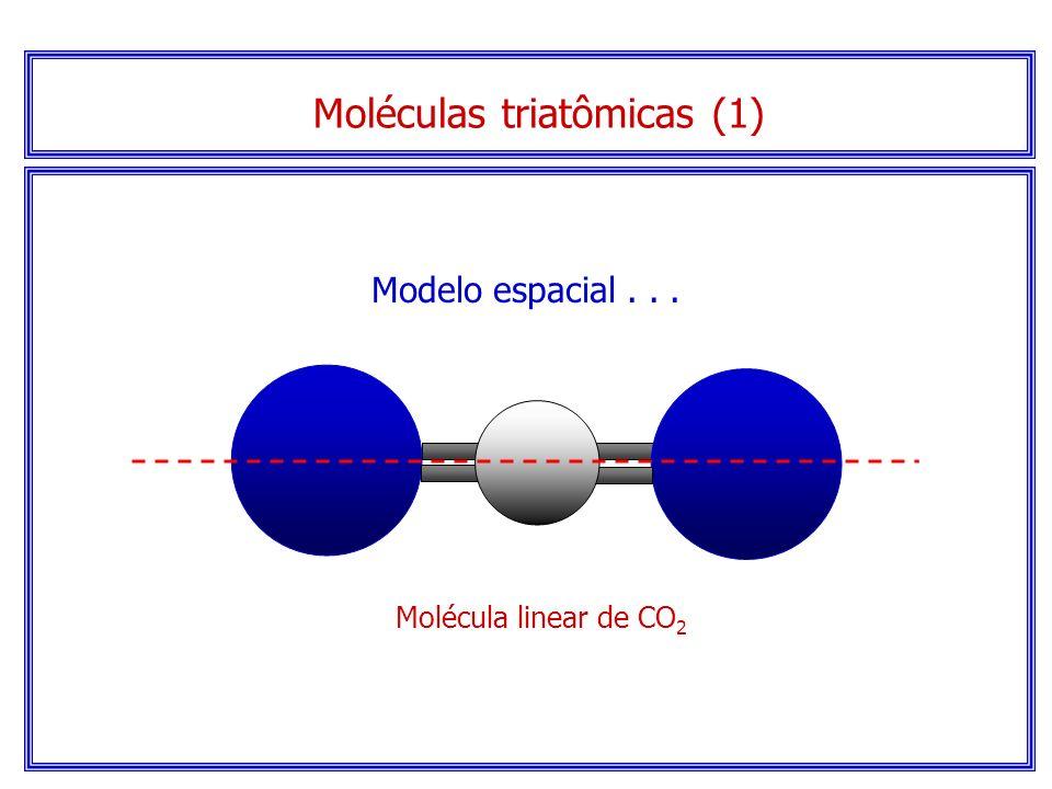 Moléculas triatômicas (1)