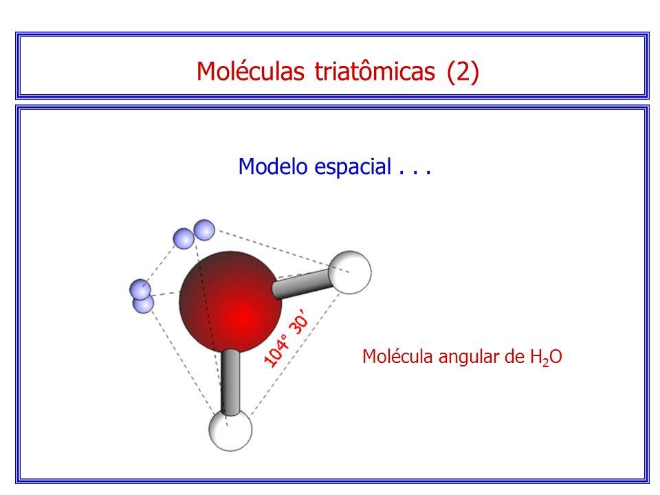 Moléculas triatômicas (2)