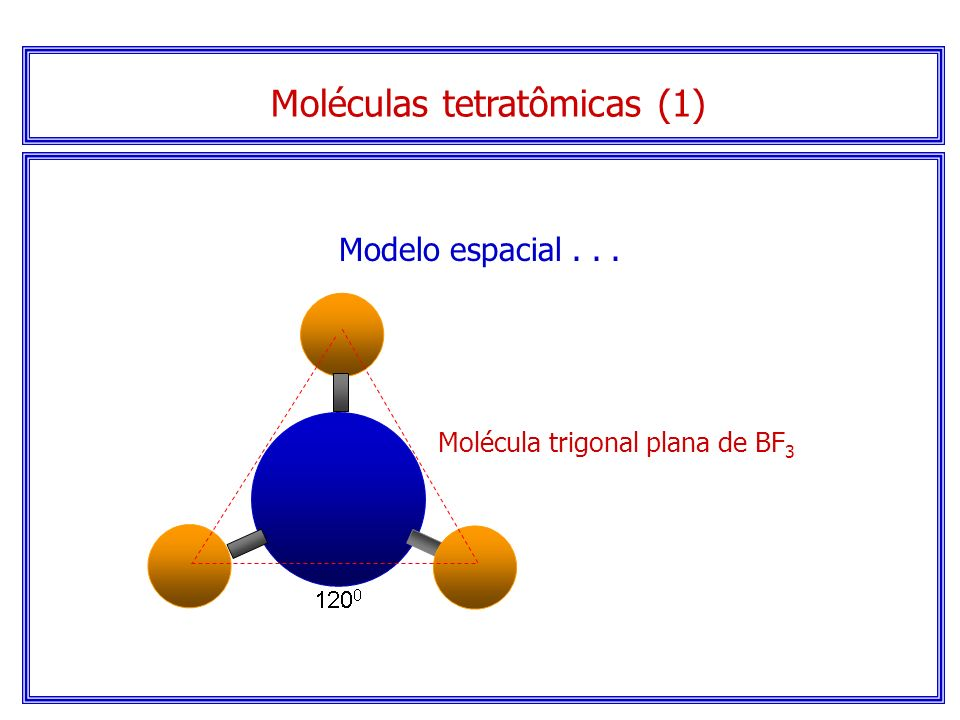 Moléculas tetratômicas (1)