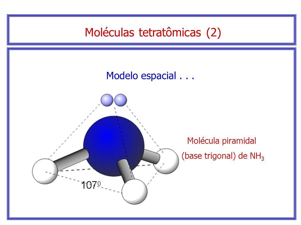 Moléculas tetratômicas (2)