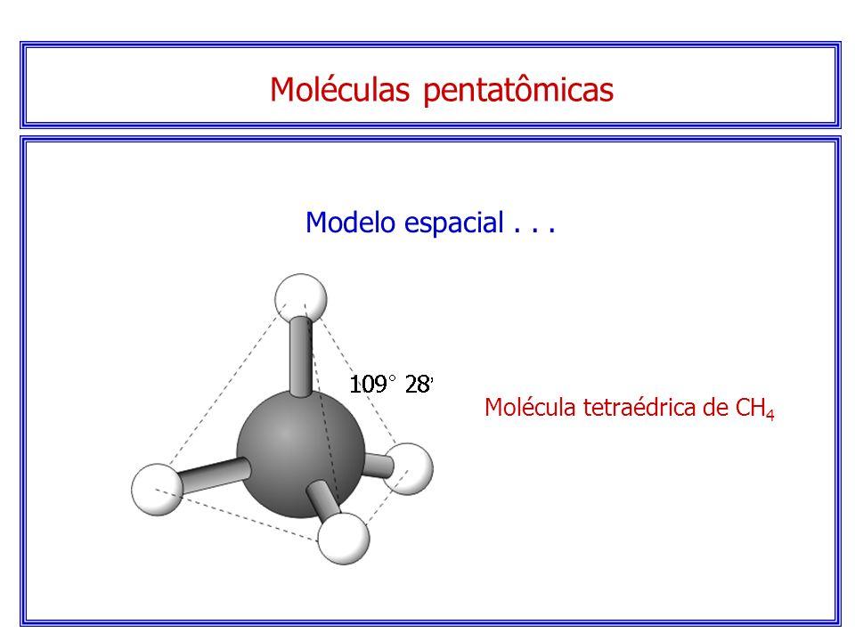 Moléculas pentatômicas