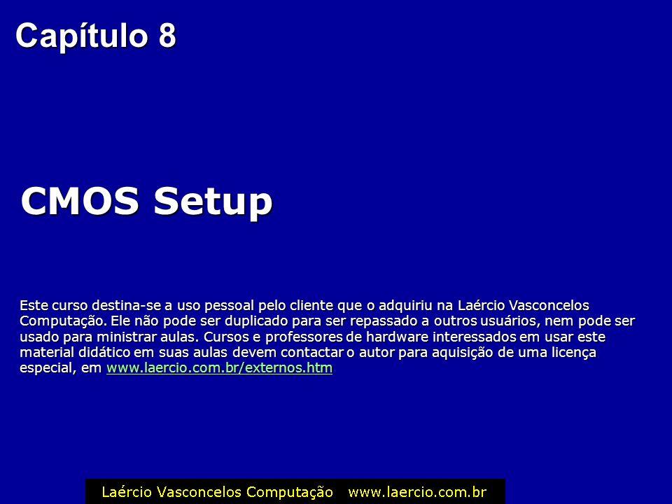 Capítulo 8 CMOS Setup.
