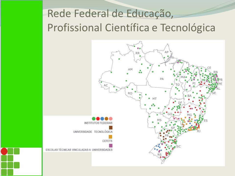 Rede Federal de Educação, Profissional Científica e Tecnológica