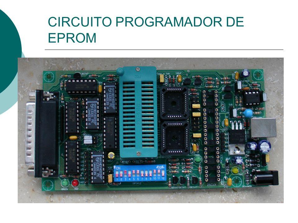 CIRCUITO PROGRAMADOR DE EPROM